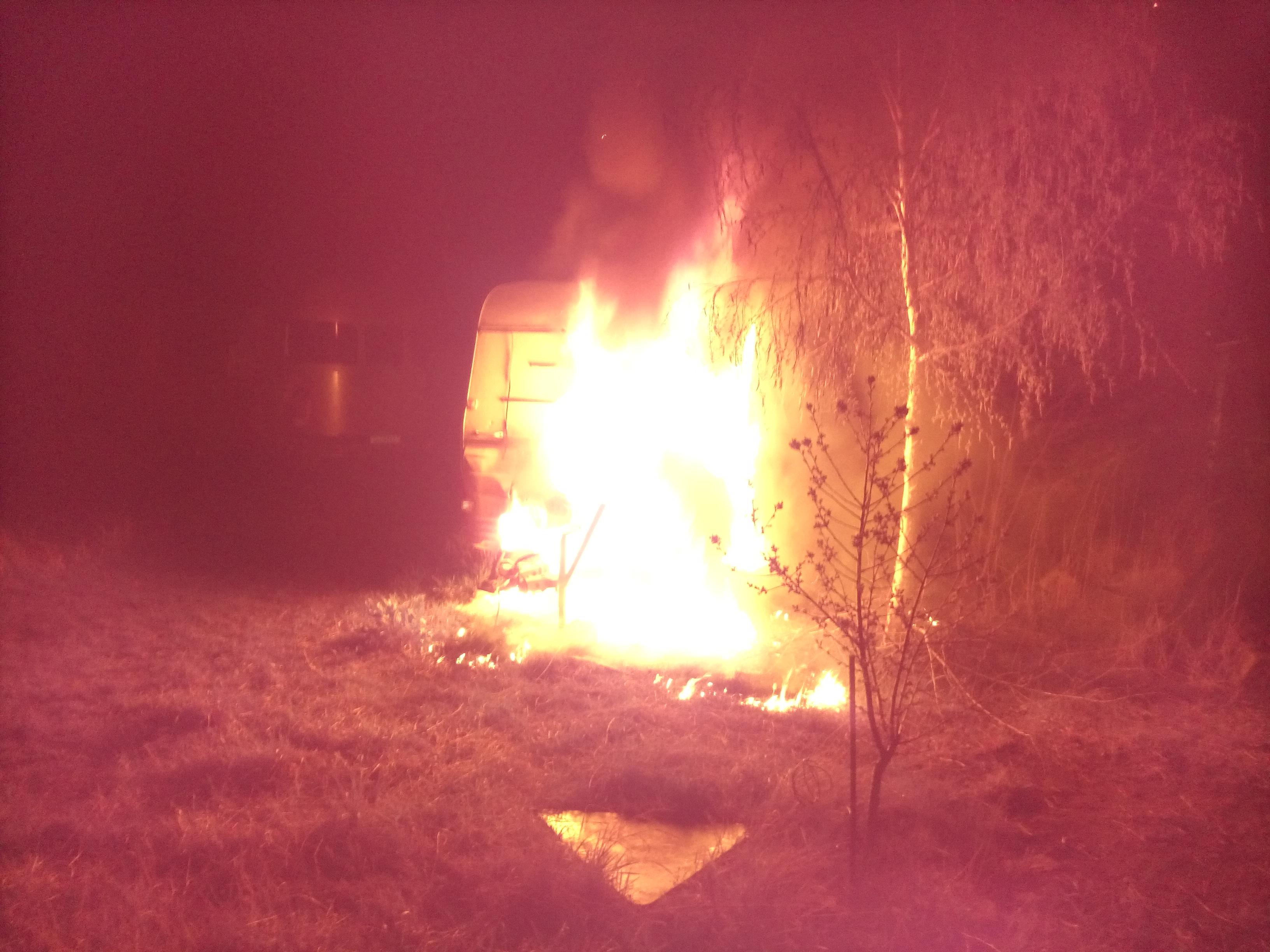 Brandanschlag auf AKW Bitterfeld